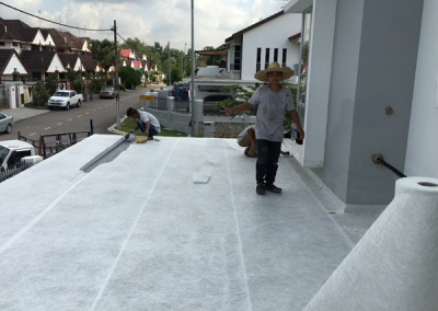 Fiber Glass Waterproofing